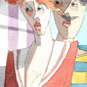 L.Diodati, Francesca e Carletto