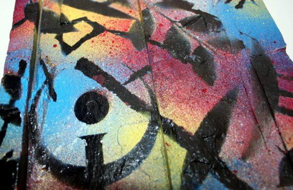 Diego Sly Colussi, Graffiti