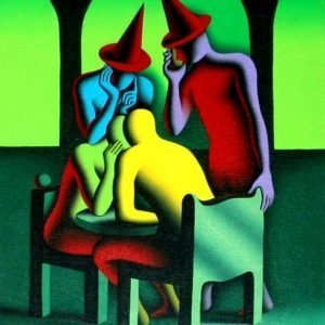 Mark Kostabi, Don't tell nobody