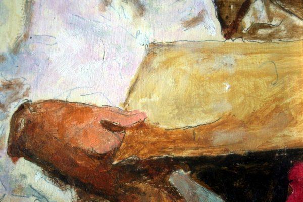 Peruzzi, Bambina in lettura