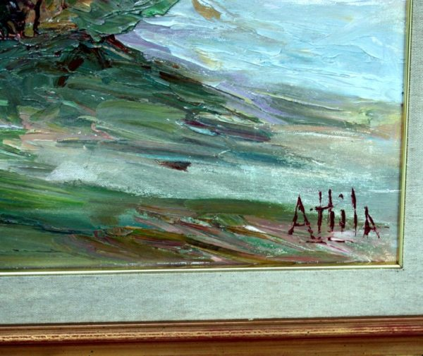 Attila Trombetti, San Vicino