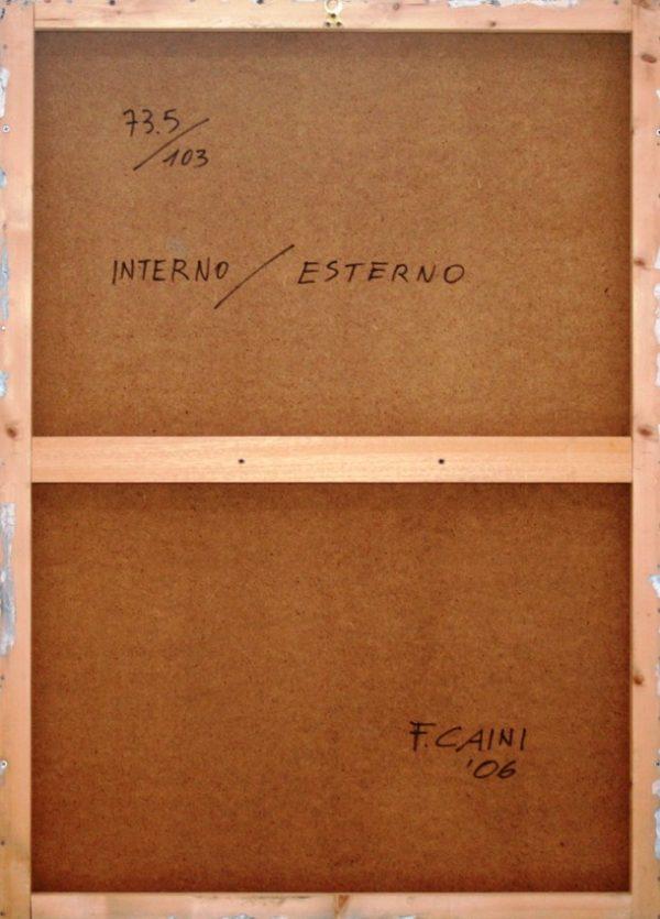Franco Caini, Interno/esterno