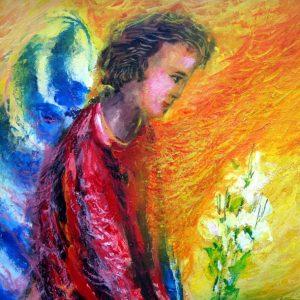 Mauro Capitani, La sosta dell'angelo annunciante
