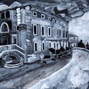 Massimiliano Carisdeo, Albergo Balcone delle Marche