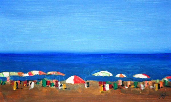 Salvatore Magazzini, Spiaggia libera