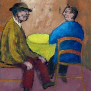 Ottone Rosai, Omini al tavolo