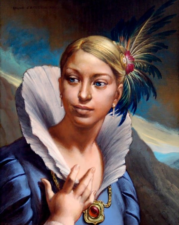 Bruno d'Arcevia, L'ambra di Diana