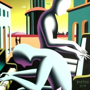 Mark Kostabi, Playing by the book