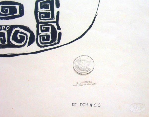 Gino de Dominicis, Schizzo del cavallo a dondolo