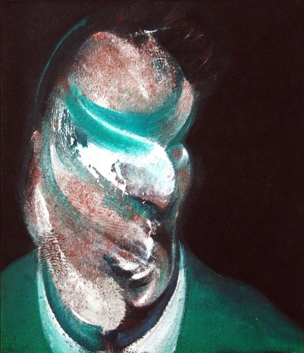 Francis Bacon, Study for Head of Lucian Freud 1967
