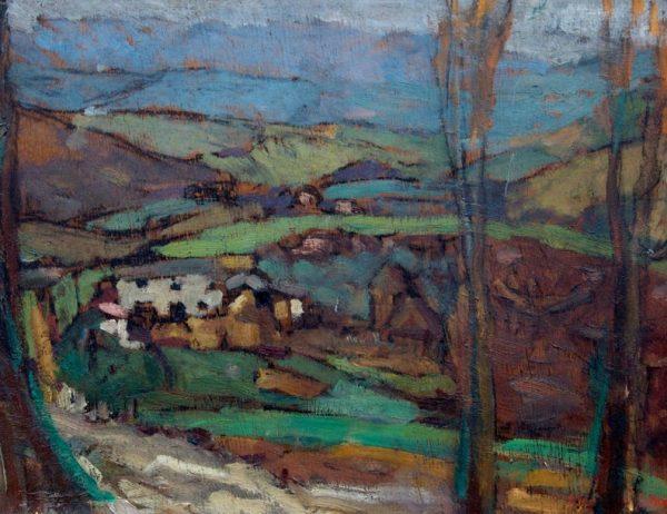 Luigi Bartolini, Paesaggio maceratese