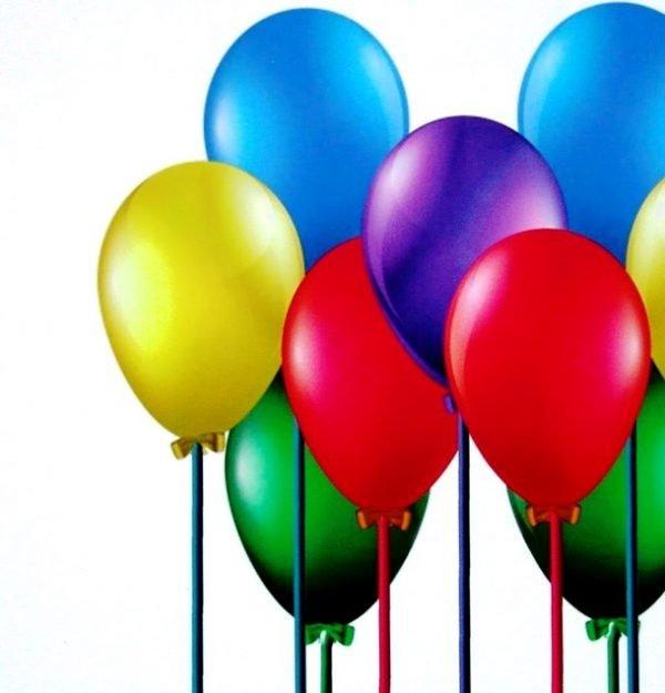 Giuseppe Fortunato, Luftballons
