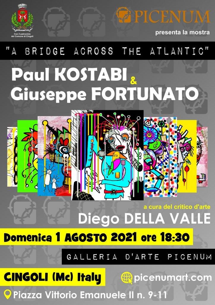 Paul Kostabi & Giuseppe Fortunato